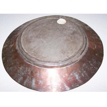 Haushalt - Dekoration - Kupferteller 31 cm - Unterseite