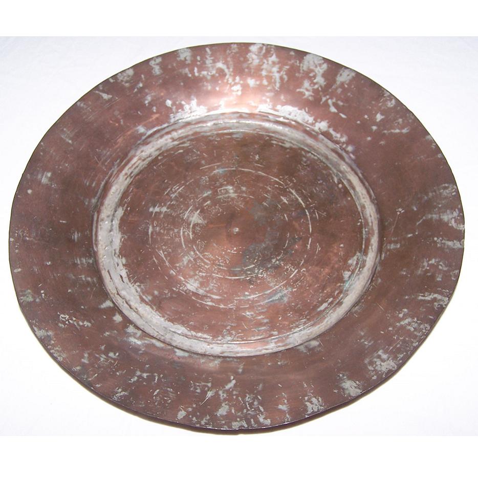 Haushalt - Dekoration - Kupferteller 31 cm