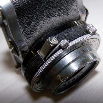 Audio-Video-Photo - Fotokamera Elji Lumière - Auslöser