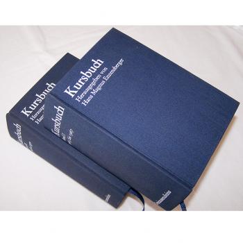 Literatur - Sachbücher - Hans Magnus Enzensberger (Hrsg.): Kursbuch 1 - 10 und 11 - 20