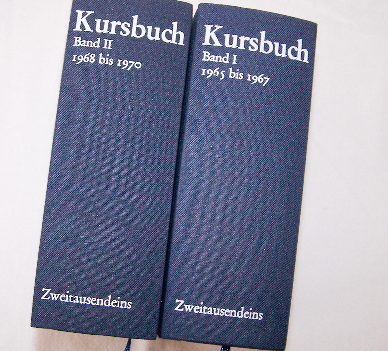 Literatur - Sachbücher - Hans Magnus Enzensberger (Hrsg.): Kursbuch 1 - 10 und 11 - 20, zwei Bände