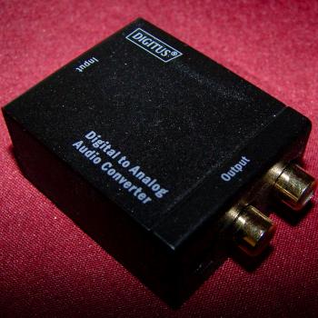Audio-Video-Photo - Digital-zu-analog-Audio-Konverter - Analog Cinch-Ausgänge