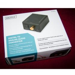 Audio-Video-Photo - Digital-zu-analog-Audio-Konverter - originalverpackt