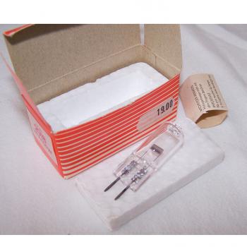 Audio-Video-Photo - Diaprojektor Bauer S 3 automat - Ersatz-Halogenlampe ausgepackt