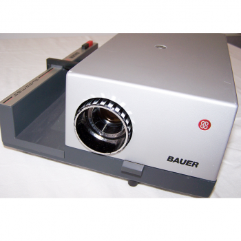 Audio-Video-Photo - Diaprojektor Bauer S 3 automat - Objektiv