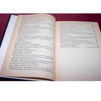 Literatur - Belletristik - Akzente - fünfbändige Gesamtausgabe vom Verlag Zweitausendeins - Inhaltsverzeichnis Band 2 Teil 2