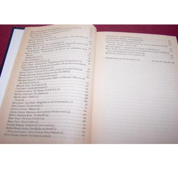 Literatur - Belletristik - Akzente - fünfbändige Gesamtausgabe vom Verlag Zweitausendeins - Inhaltsverzeichnis Band 3 Teil 2