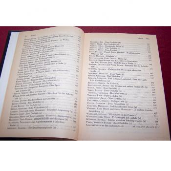 Literatur - Belletristik - Akzente - fünfbändige Gesamtausgabe vom Verlag Zweitausendeins - Inhaltsverzeichnis Band 5 Teil 2