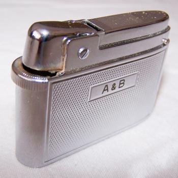 Haushalt - Raucherzubehör - Gas-Feuerzeug Compound von Silver Match