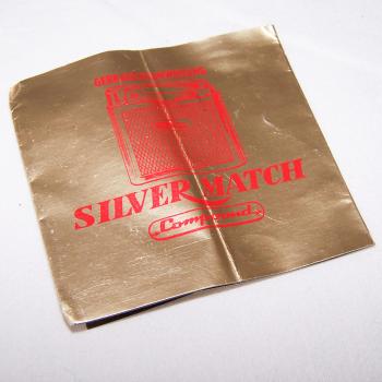 Haushalt - Raucherzubehör - Gas-Feuerzeug Compound von Silver Match - Bedienungsanleitung Deckblatt