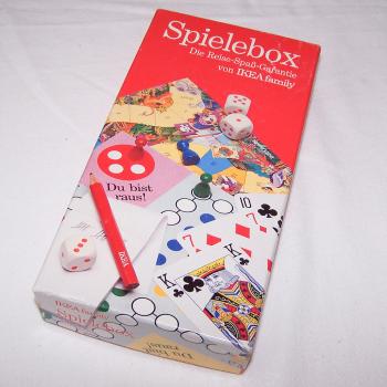 Spiele - IKEA Reise-Spielebox