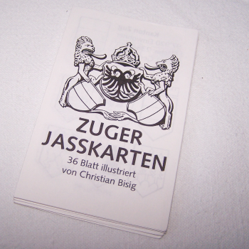 Spiele - Zuger Jasskarten - Erläuterungen zu den Illustrationen