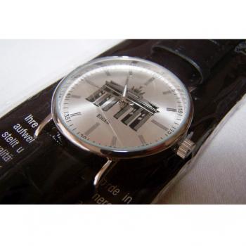 Schmuck - Uhren - Armbanduhr mit Motiv Brandenburger Tor - Ziffernblatt