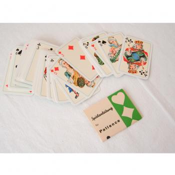 Spiele - Patiencekarten - Spielanleitung und Karten