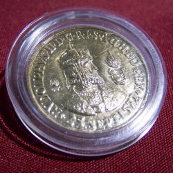Souvenirs - Abzeichen und Medaillen - Rudolphus - Krönungsfeierlichkeiten Bratislava 2005 - Vorderseite