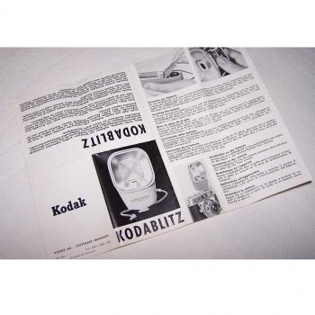 Audio-Video-Photo - Kodablitz Bedienungsanleitung