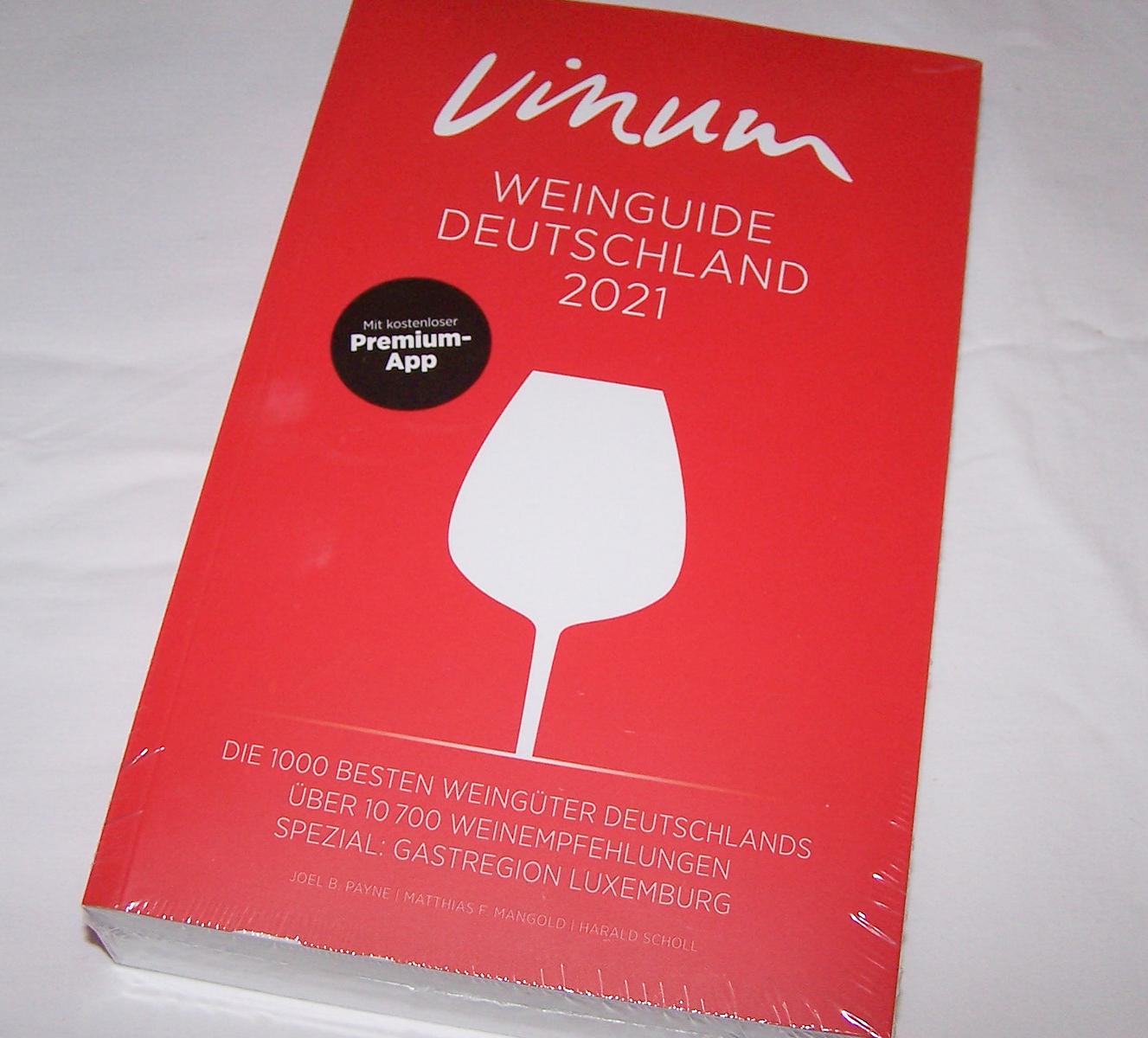 Literatur - Sachbücher - Vinum Weinguide Deutschland 2021 - Cover