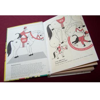 Literatur - Belletristik - Peter Wolick: Kleine Freundin aus Paris - Pony Ausschneidebogen