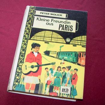 Literatur - Belletristik - Peter Wolick: Kleine Freundin aus Paris - Cover
