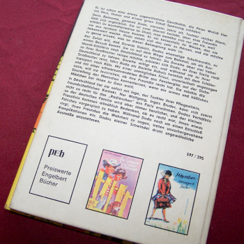Literatur - Belletristik - Peter Wolick: Kleine Freundin aus Paris - Rückseite
