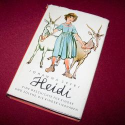 Literatur - Belletristik - Johanna Spyri: Heidi - Cover